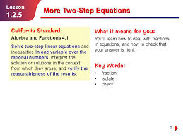 lesson 2 3 practice b solving two step and multistep equations 5 3 reteaching solving polynomial equations answers jennarocca