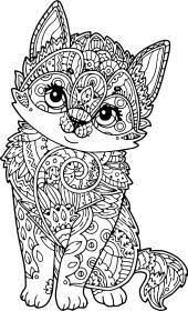 Groovy chickens and roosters coloring book for adults. Puppy Dog Animal Coloring Pages For Adults Novocom Top