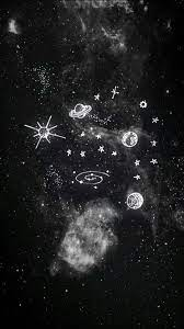 aesthetic wallpaper black phone galaxy ...