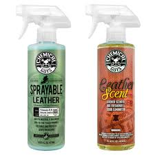 details about chemical guys sprayable leather cleaner conditioner leather scent 16 oz