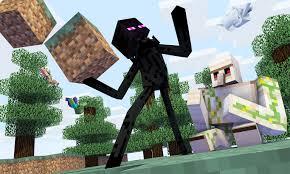 Minecraft Enderman and Iron Golem ...