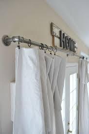 Curtain Rod Alternatives Best 25 Curtain Clips Ideas On Pinterest Easy Curtains Cheap