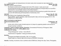 private equity associate sample resume sample resume investment