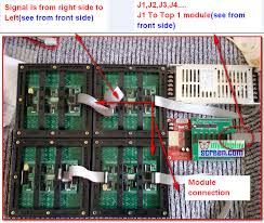 how to assemble led display module led display module connect 2 jpg