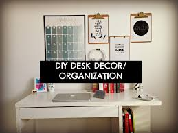 simple diy office ideas diy cute cheap and easy diy desk decor organization youtube office cubicles cheap office ideas