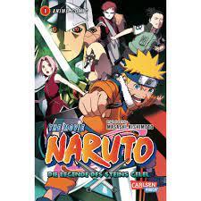 Naruto the Movie: Die Legende des Steins Gelel, Band 1 - Takagi GmbH -Books  & More- (高木書店・ドイツ)
