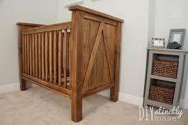 diy baby furniture. DIY Crib | DiystinctlyMade.com Diy Baby Furniture N