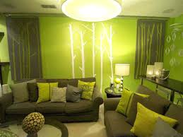 lime green wall decals baby nursery with stripes curtain and lime green wall  color living room