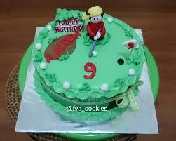 Mini Golf Birthday Cake Balikpapan Fya Cookies Cake Cupcakes
