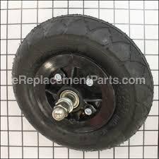 razor e100 parts list and diagram ereplacementparts com front wheel complete