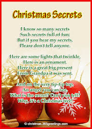 short christmas poems christmas