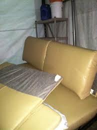 rv recliner sofa couch motorhome trailer camper semi plush leather