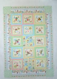 Dogwood Lane Rambles: A Baby Quilt But No Barn & This Peter Rabbit quilt made for my grand daughter Paige was sewn with so  much love. I machine embroidered the blocks with characters from Beatrix  Potter's ... Adamdwight.com
