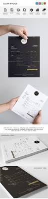 best ideas about invoice template invoice design clean invoice
