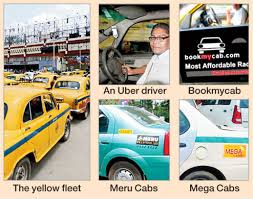 A New Cab Service Launches On A Day A Rally Threatens To