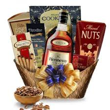 hennessy cognac gift basket cognac at its finest hennessy cognac gift basket spiritedgifts