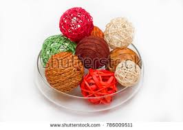 Decorative Cane Balls Mesmerizing Decorative Balls Cane Twisted Branches Sticks Stock Photo 32