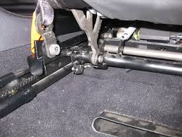 the complete diy for twisted seat repair! bmw m5 forum and m6 forums E46 Seat Belt Pretensioner Wiring Harness now, in the same area (lower left behind seat, for the driver side) you need to remove the seat belt tensioner pin it's sort of like a cotter pin, Seat Belt Pretensioner Parts