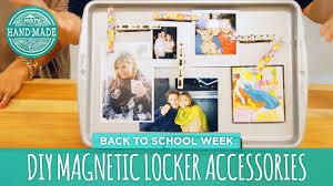 diy magnetic locker accessories back to school week handmade you
