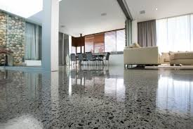 Simple Polished Concrete Residential Floors With Regard To Loft And Condo  Flooring Your Way Floor