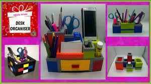 Diy Desk Organizer Desk Organiser Made Of Legos Diy Youtube