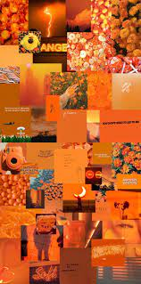 Orange wallpaper, Orange aesthetic ...