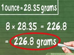 Lbs And Oz To Grams Chart 3 Ways To Convert Ounces To Grams Wikihow