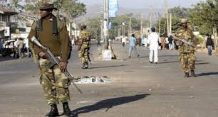 Image result for Kaduna curfew's compliance level high as arms takes over streets