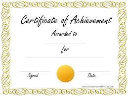 10+ Certificate Free Templates | Colonialneighbours.com
