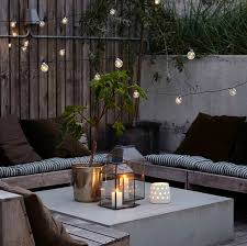 feature lighting ideas. love the idea of a chilled area in garden on warm nights feature lighting ideas o