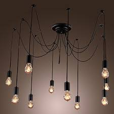 Antique industrial lighting fixtures Victorian Iwhd Loft Style Vintage Industrial Pendant Lighting Fixtures With 10 Lights Design Retro Vintage Lamp Home Lighting Lamparasin Pendant Lights From Lights Aliexpresscom Iwhd Loft Style Vintage Industrial Pendant Lighting Fixtures With 10