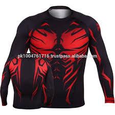 Designer Rash Guard Huniter Rash Guards Mma Fight T Shirt Men Designer T Shirt