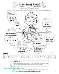 hand washing coloring pages x hand washing coloring pages for preschoolers