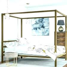 chrome canopy bed – wctp.info