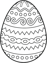 Easter Egg Coloring Pages Egg Coloring Page Easter Egg Coloring