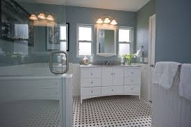 bathroom remodel tile. Traditional Black And White Tile Bathroom Remodel Traditional-bathroom D