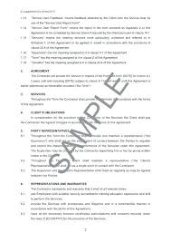 Snow Removal Contracts Example Contract For Services
