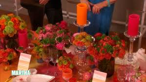 Wedding Reception Decorating Video Colorful Wedding Reception Decorating Ideas Martha Stewart