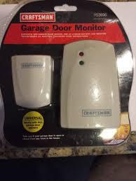 wireless garage door monitorCraftsman Universal Wireless Garage Door Sensor Monitor Kit Model