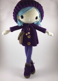 Amigurumi Doll Patterns Amazing Emilia Amigurumi Doll Crochet Pattern PDF Amigurumi Pinterest