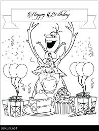Free Printable Happy Birthday Coloring Pages Happy Birthday Coloring