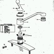 Repairing Kitchen Faucet Moen Single Handle Kitchen Faucet Repair