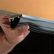 garage door seal stripHow to Install Garage Door Weatherstripping