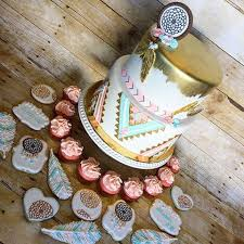 Dream Catcher Baby Shower Cake Rebecca Knapp rebeccascakes Instagram photos and videos 89