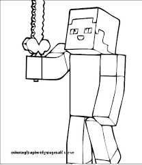 Minecraft Steve Coloring Pages Fresh Minecraft Coloring Pages Steve