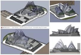 sidney opera house autocad 3d
