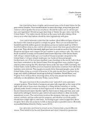 essay on gun control debate the gun control debate criminology essay uni assignment centre