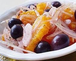 Risultati immagini per Arance, olive verdi, cipolla.