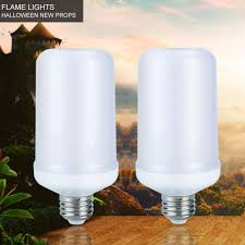 2017 Nieuwe E27 E26 Led Lamp Vlam Effect Fire Licht Bollen 7 W