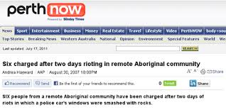 mainstream media coverage of aboriginal issues creative spirits newspaper article headline